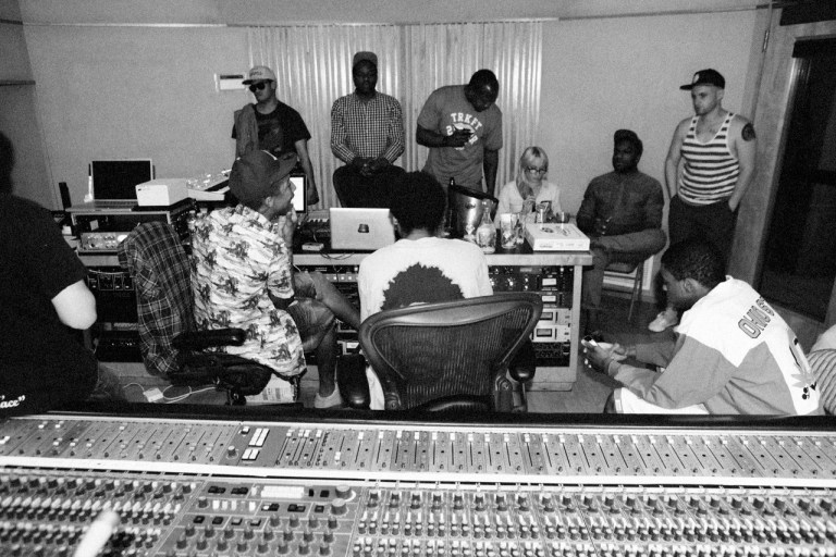 Vince Staples, Christian Rich, Earl, Pharell, Studio