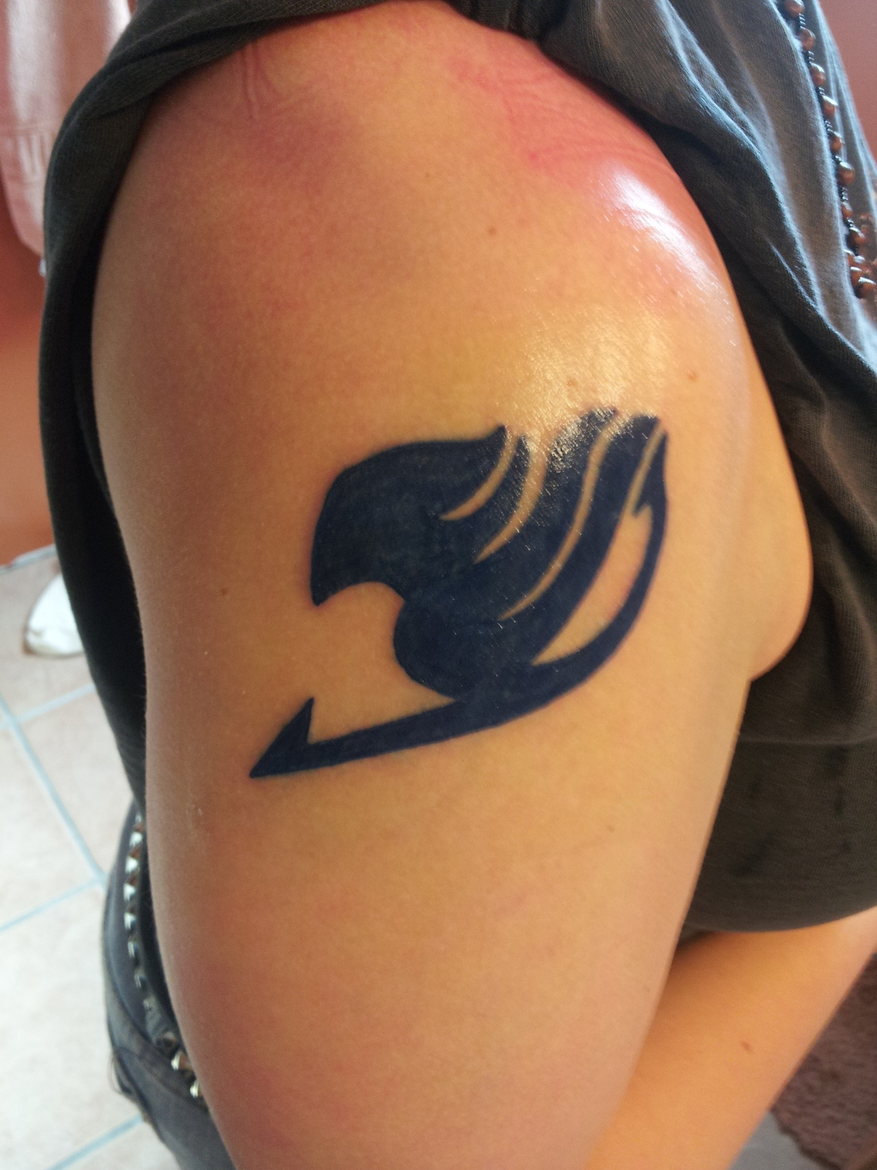 Fairy Tail Tattoo Designs  25 Sweet Collections Slodive