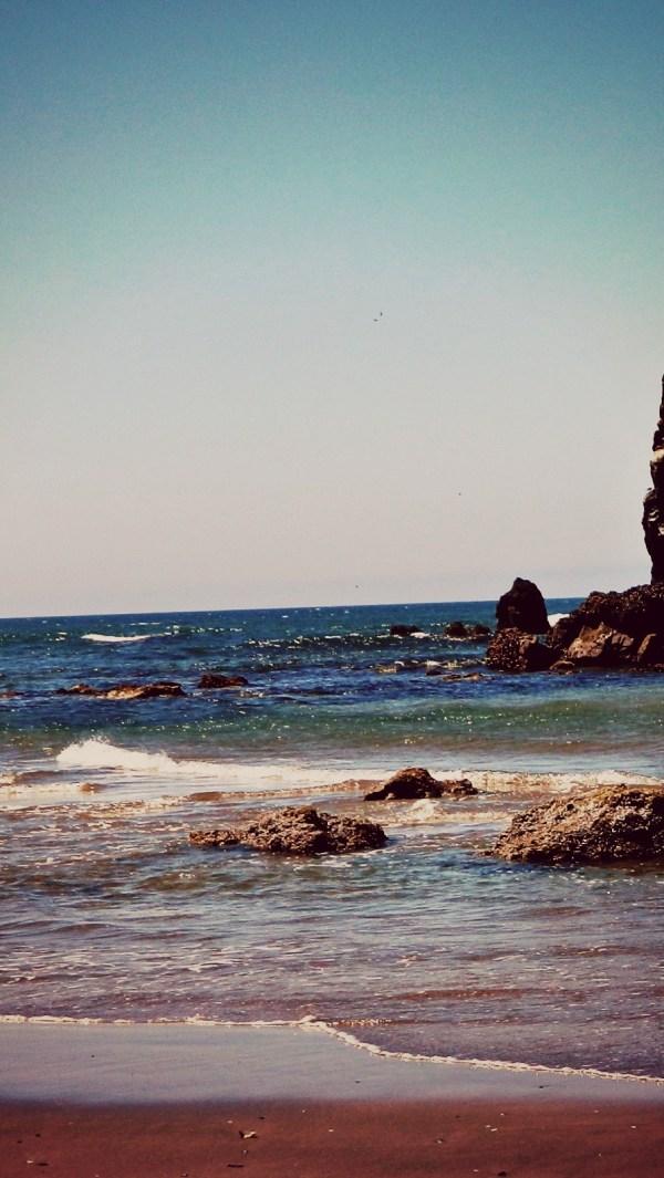 Summer Beach Ocean Vertical Hannahb4nana