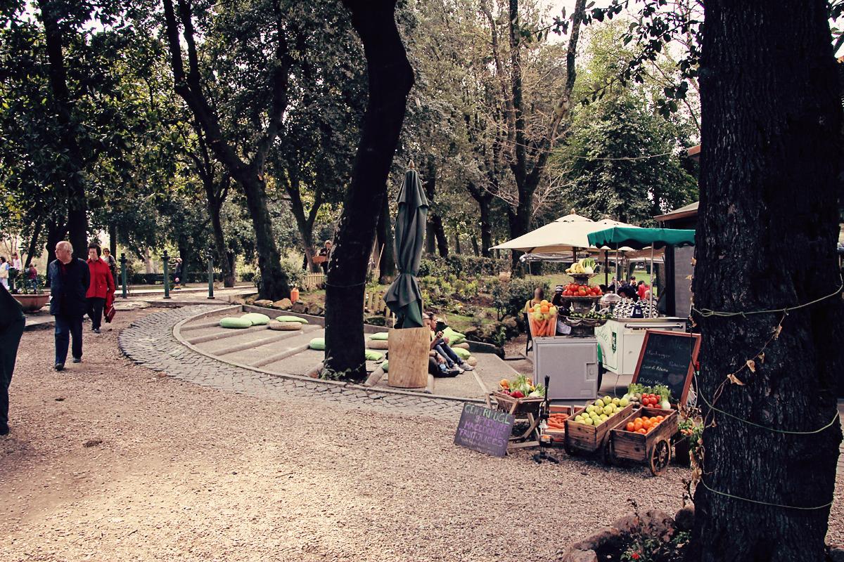 borghese ramble, rome, italy, 2012 (digital).