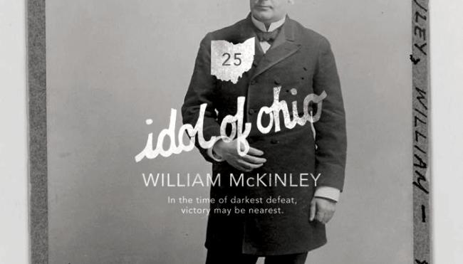 Twenty-Fifth President: William McKinley (1897-1901)</p> <p>Hand drawn type & Avenir<br />