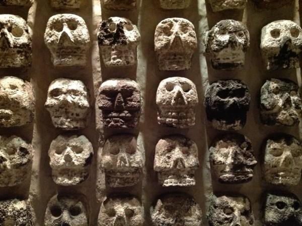 Ancient Aztec Skulls