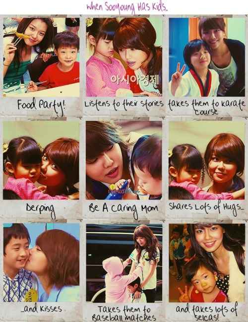 Sooyoung will be a great mom