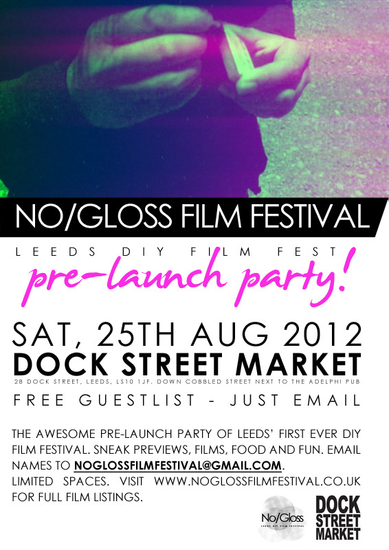 no gloss film festival 2012 launch party