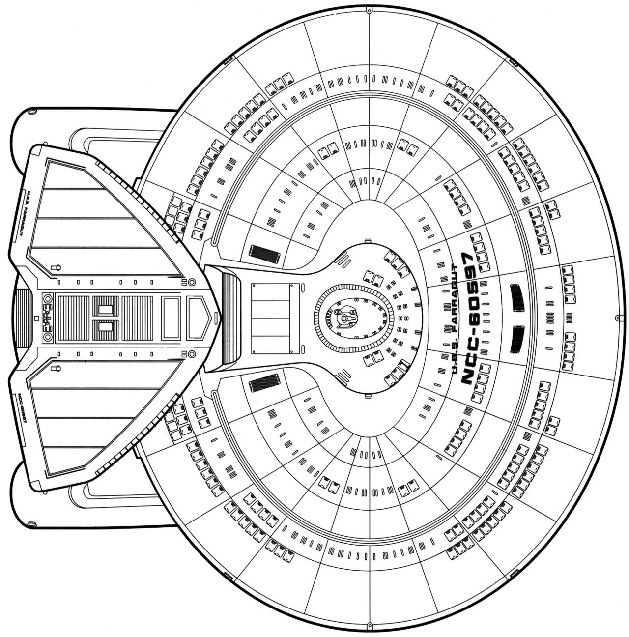 Nebula Class Starship Schematics Page 2