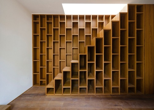 Bookcase Stairs Loft Designs - Bookshelf Staircase