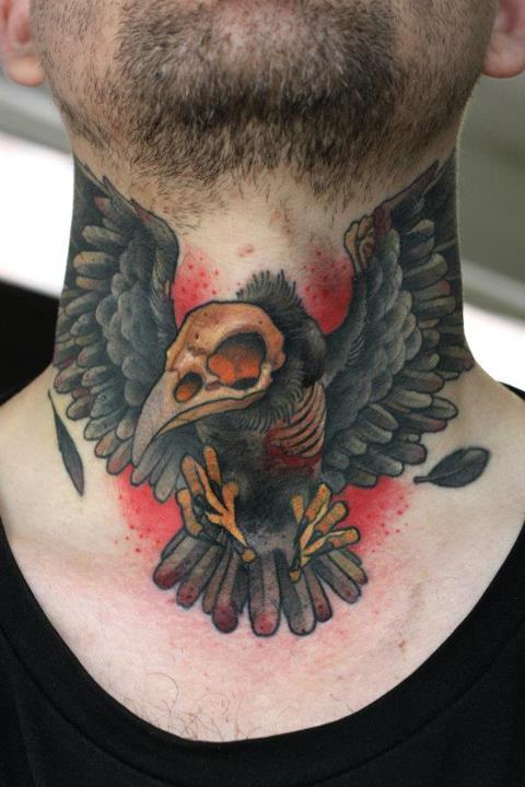 8 Cool Neck Tattoos Tattoodocom