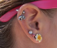 Is there different cartilage earrings ? | Yahoo Answers