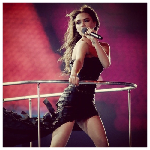 VICTORIA BECKHAM LONDON OLYMPICS CLOSING CEREMONY