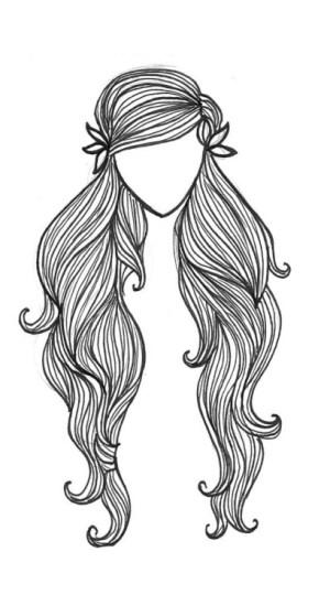 drawings drawing hippie hair draw sketches sketch doodle paintings sketching