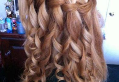 Homecoming Hairstyles Long Hair