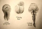 drawings hairstyles coutureandbows