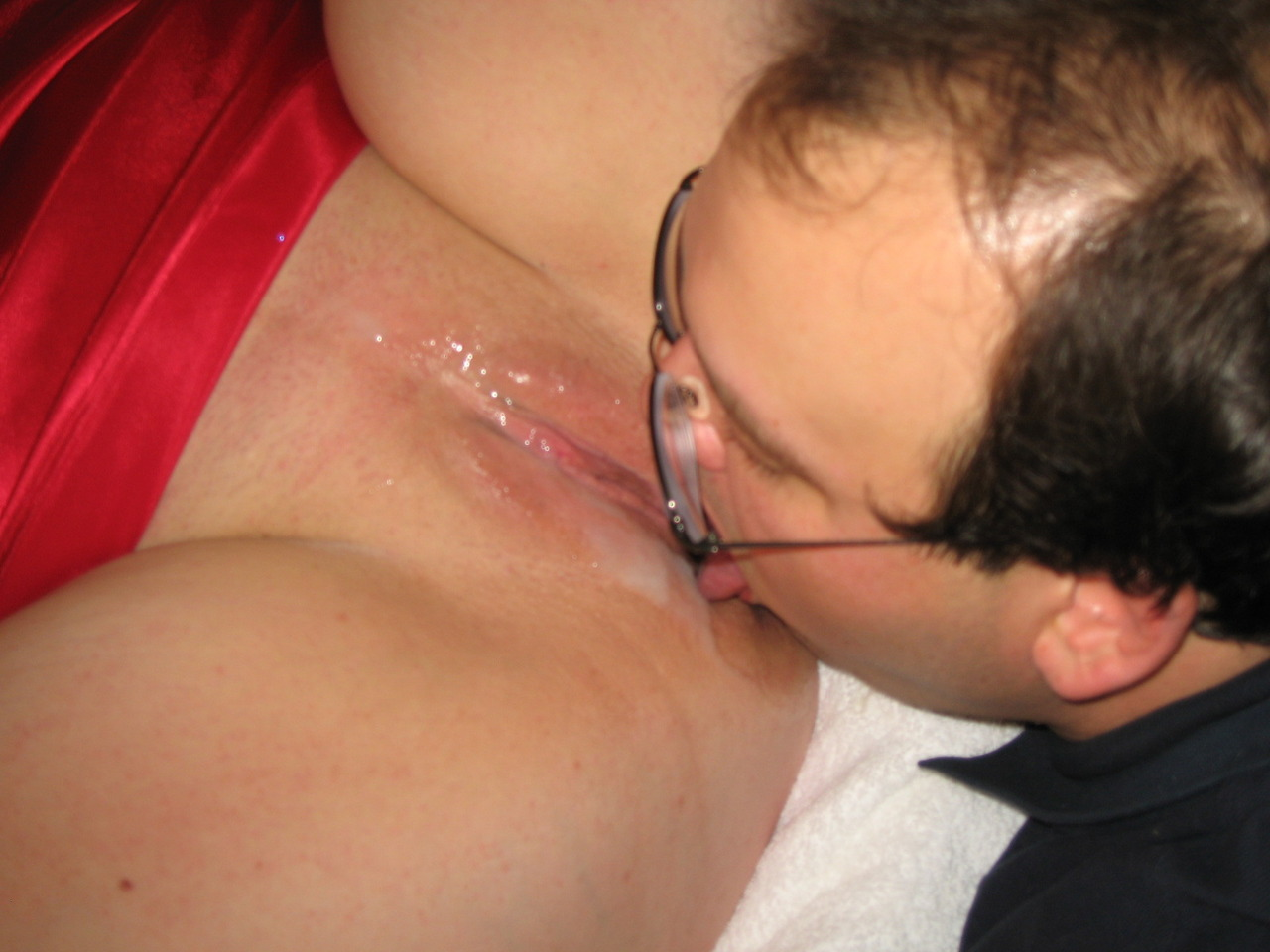 Wife Makes Husband Eat His Cum