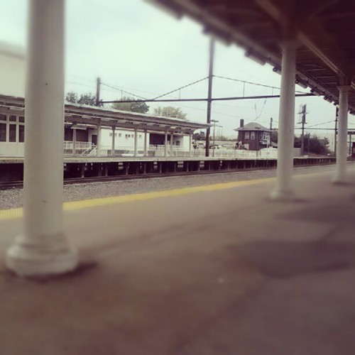 Sitting at the station, ready to leave…  (Taken with Instagram)