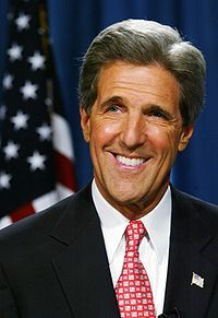 "<br /><br />         I am thinking about John Kerry</p><br /> <p>            ""#DNC2012   ""Ask Osama bin Laden if he's better off now than he was four years ago!"" — Senator John Kerry""</p><br /> <p>            Check-in to</p><br /> <p>     John Kerry on GetGlue.com<br /><br />"