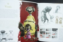 Book Animation Concept Art 3d Model Sheets Character