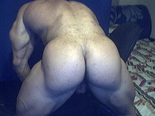 gay muscle ass spread