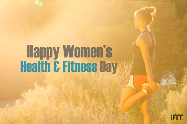 National Health and Fitness Day Woman