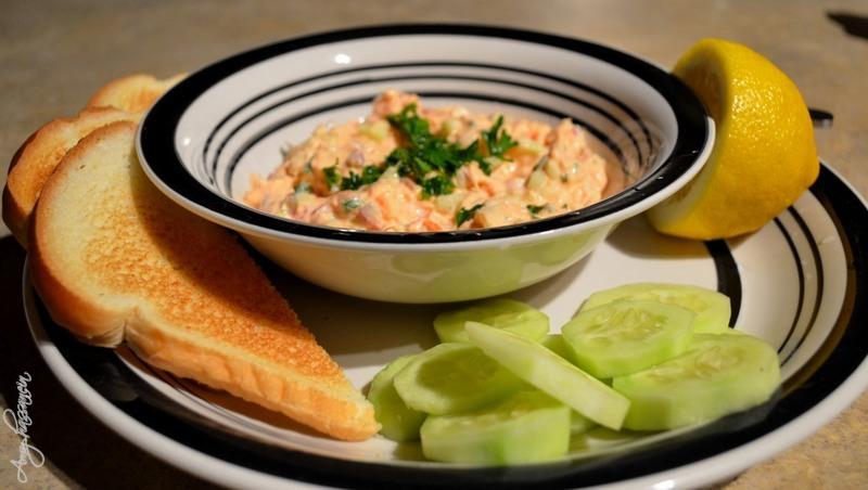 Smoked Salmon Dip Dinner - © Amy Hassanein