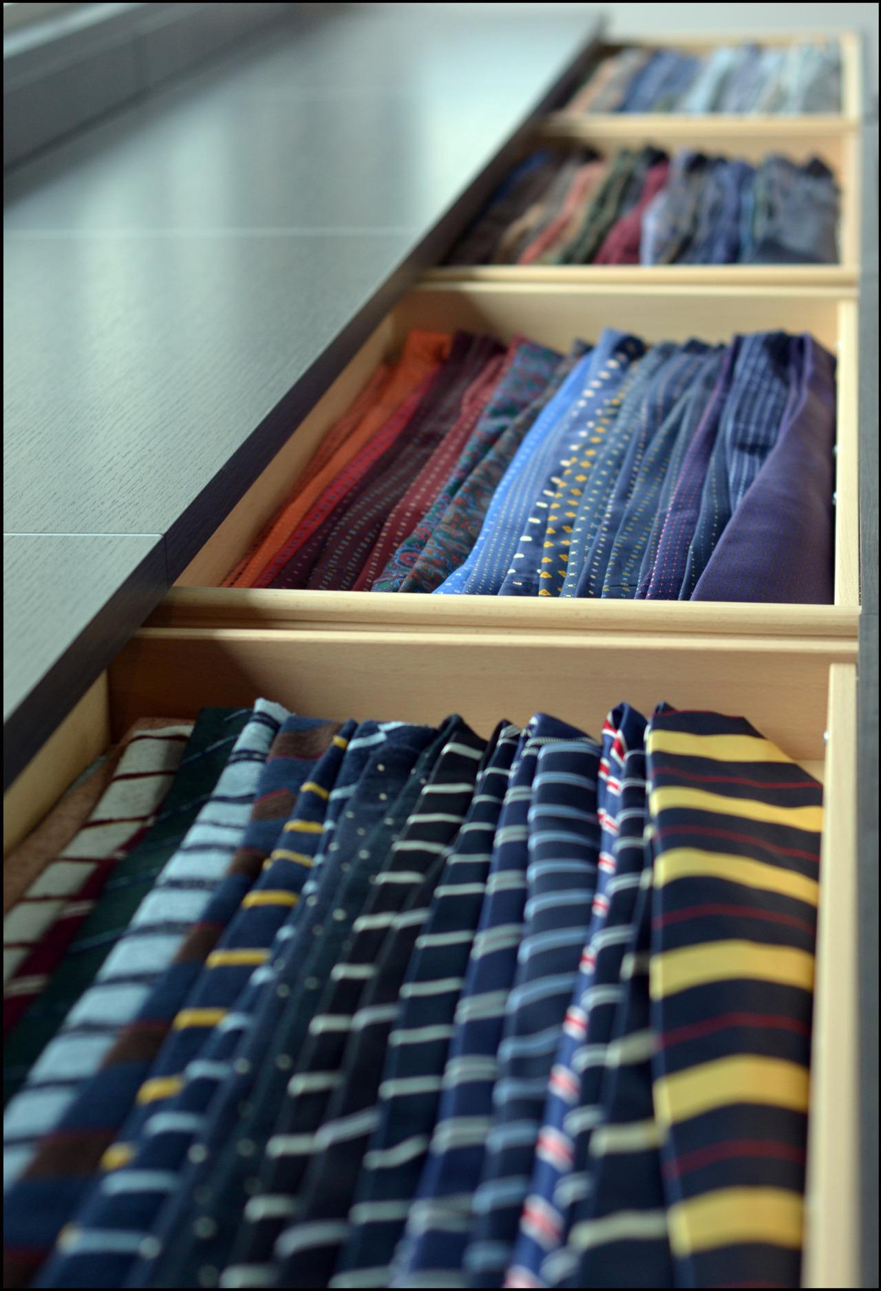 Tie Storage Solutions