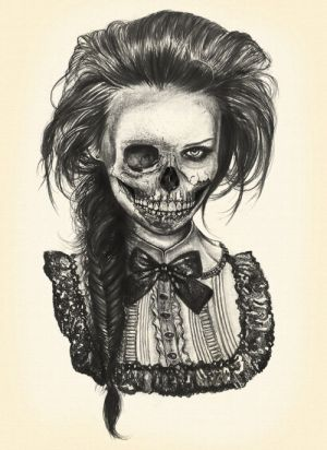 cool drawing drawings skull draw skulls scary creepy sketches sketch skeleton awesome zombie tattoo halloween amazing pretty really dark half