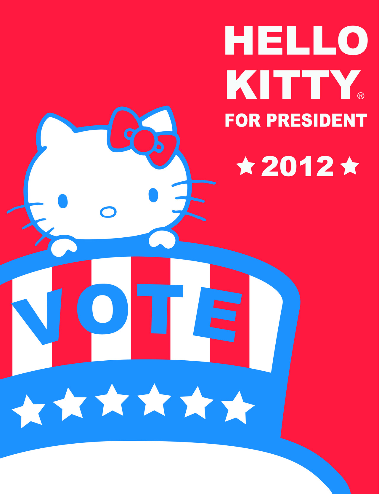 Hello Kitty for President