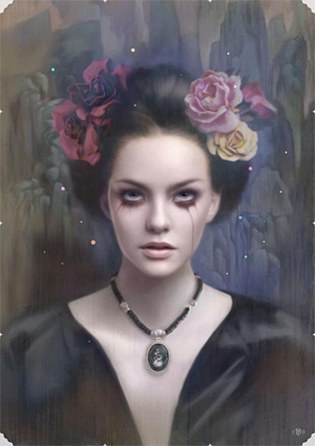 Hito Dama by Tom Bagshaw