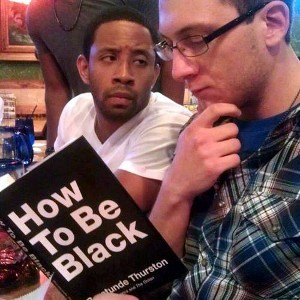 Readers absorbing Baratunde Thurston's How to be Black