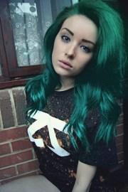 green hair ftw