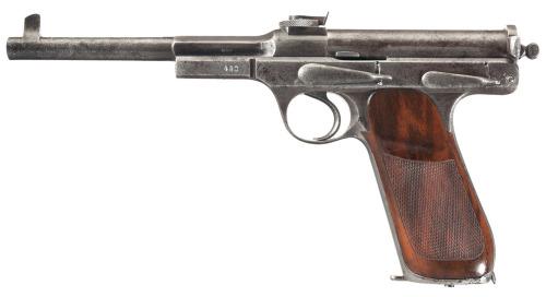 Schwarzlose 1898 pistol