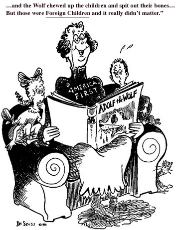 Image result for dr. seuss america first cartoon