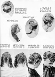 1940s updo ideas mid-thigh