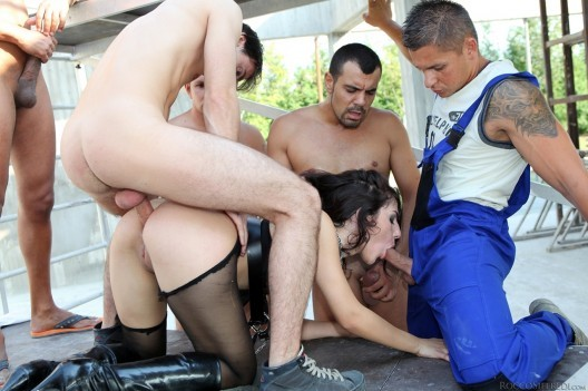 Roccos Bitches in Uniform   Valentina Nappi Gangbang