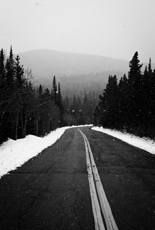 Let's take the road to nowhere.<br /> Anywhere but here.<br /> Far, far away.