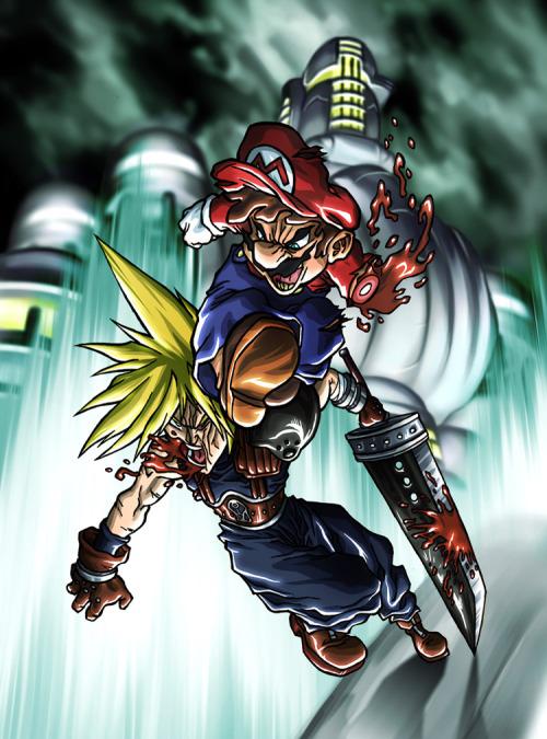Mario se la joue Baston
