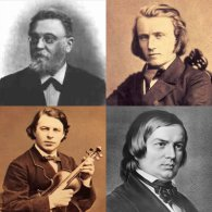 "Clockwise from top left: Albert Dietrich, Johannes Brahms, Robert Schumann, Joseph JoachimToday, Nov 20, is the 104th anniversary of the death of composer Albert Dietrich, a student of Schumann and a friend of Brahms. He is best known for a work that is talked about far more than it is ever heard: the ""F-A-E"" Sonata for Violin and Piano. But 92Y fixes that Dec 8!The Sonata was written as a surprise for violin virtuoso Joseph Joachin. Dietrich wrote the first movement, Schumann wrote the second and fourth, and Brahms wrote the third. Only Brahms' Scherzo is still heard today, and Julian Rachlin will perform it with pianist Itamar Golan at 92Y on Wed, Dec 5.But then Julian Rachlin and Itamar Golan will give a rare performance of the complete ""F-A-E"" Violin Sonata at 92Y on Sat, Dec 8. So remember Albert Dietrich today, and hear his most known-about, if not his most-known, music in two weeks."