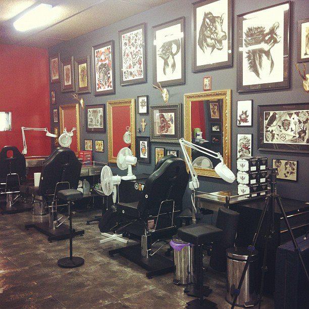 Tattoo Shop Interior