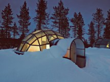 Rent Glass Igloo In Finland Watch