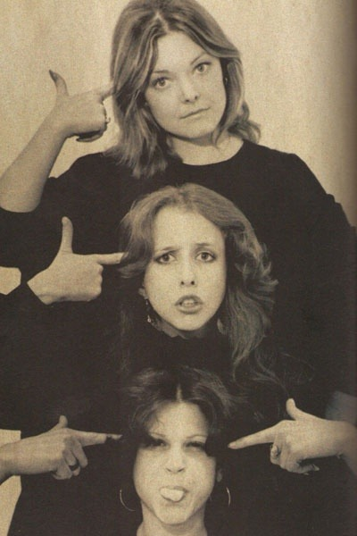 honey-rider:  JaneCurtain,Laraine Newman,andGilda Radner  When it was organ-twisting funny. Not as funny as NatLamp Radio Hour, of course, but very close.