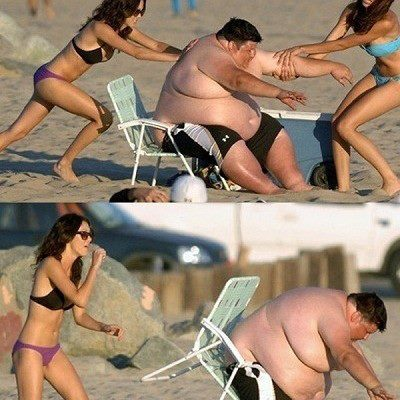 Image result for fat man vs thin man
