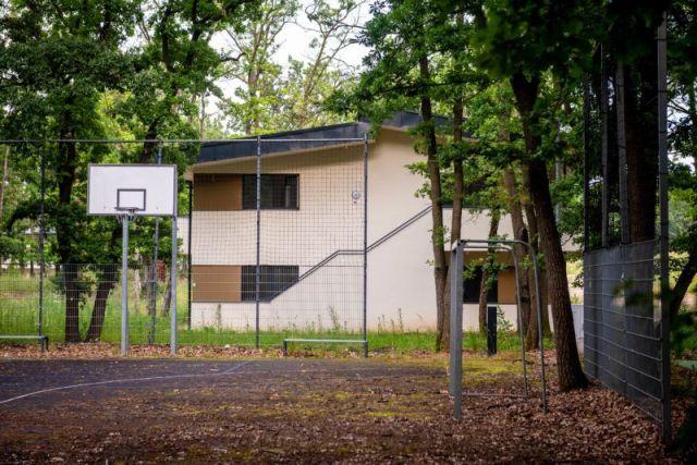 Image: 73904563, Káptalanfüredi tábor, elhagyatott új épületek, Place: Balatonalmádi-Káptalanfüred, Hungary, Model Release: No or not aplicable, Property Release: Yes, Credit: smagpictures.com