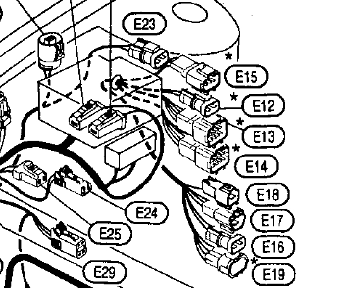 Nissan Ka24e Engine Wiring Harness. Nissan. Wiring Diagram
