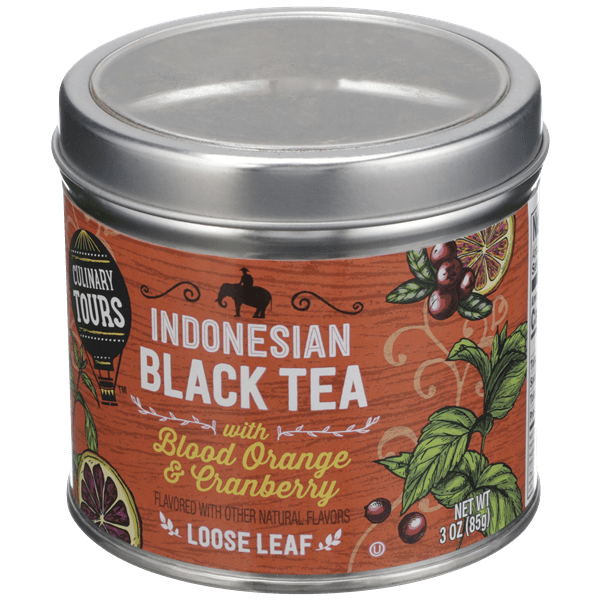 Culinary Tours Indonesian Black Tea With Cranberry Orange Loose Leaf Hy Vee Aisles Online Grocery Shopping
