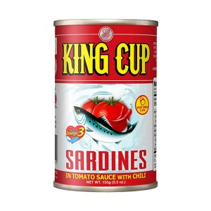 King Cup Sardines in Tomato Sauce with Chili 155 g