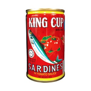King Cup Sardines in Tomato Sauce 155 g