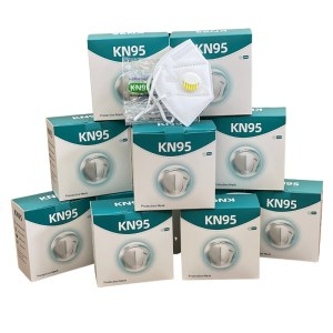 3D KN95 Mask with Valve White (10/box)