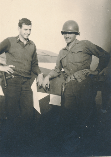 268. Lt. Hightower and 1st Sargent William A. Faulkner, Maginot Line 1944