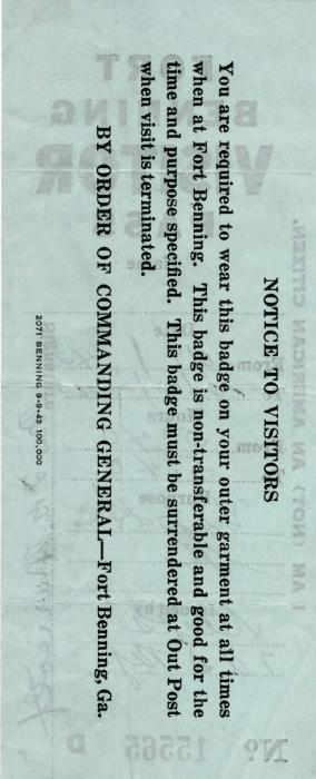 10-09-43-Fort-Benning-Visitor-Pass-Back-