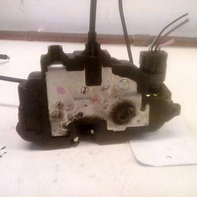 0108H 300128-F Deurslot Mechanisme Links Achter Renault Clio Grant Tour (2008) Electrisch