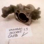 35150-22600 35170-22600 Gasklephuis Hyundai 1.5 12V G4EB (2000-2004)